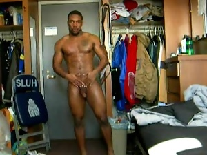 Big cock, Black, College, Football, Gay, Muscled, Private
