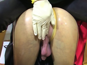 Bdsm, Bizarre, Enema, Latex, Rubber, Shemales