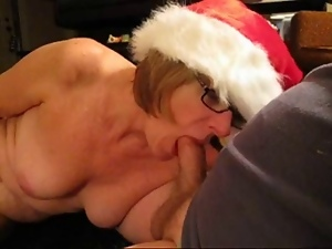 Amateur, Blowjob, Mature, Wife, Xmas