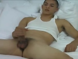 Cash, Gay, Latina, Masturbating, Twink, Wanking