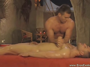 Blowjob, Gay, Hunk, Massage