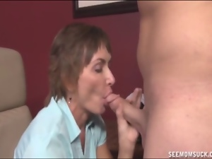 Blowjob, Lady, Mature, Milf, Nude, Sucking