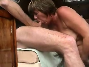 Amateur, Blowjob, Boat, Cum, Granny, Mature, Swallow