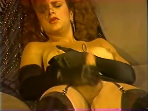 Masturbating, Shemales, Solo, Transsexual, Vintage