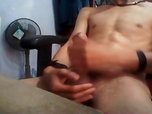 Big cock, Cum, Gay, Home, Huge, Masturbating, Wanking