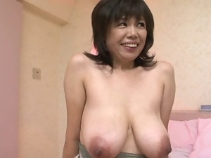 Asian, Big tits, Hairy, Mature