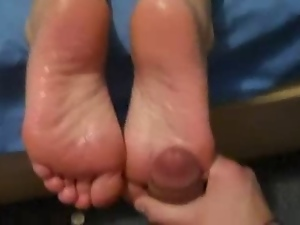 Amateur, Foot fetish, Mature, Trailer girl