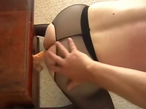 Crotchless panties, Funny, Gay, Pantyhose