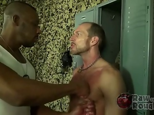 Barebacking, Dick, Gay, Interracial, Military, Muscled