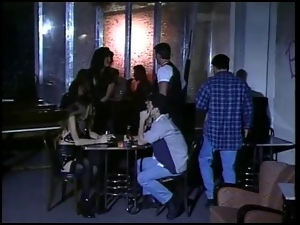 Milf, Restaurant, Threesome
