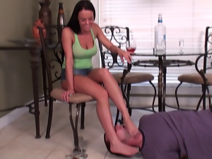 Bdsm, Femdom, Foot fetish, Hogtied, Humiliation