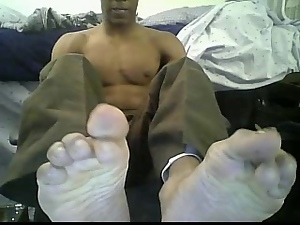 Black, Feet, Gay, Soccer, Webcam