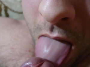 Amateur, Big cock, Blowjob, Gay, Handjob, Self suck