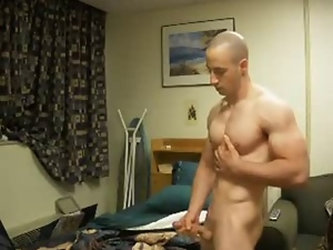 Cute, Gay, Masturbating, Muscled, Webcam, Young