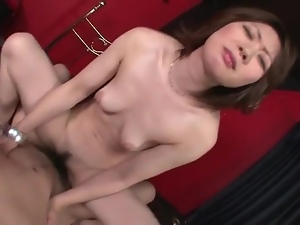Dick, Grinding, Hardcore, Japanese, On top, Pussy, Young
