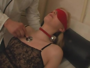 Bdsm, Blindfolded, Doctor, Facials, Fucking, Gagged, Hardcore