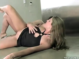Anal, Black, Close up, Dress, Footjob