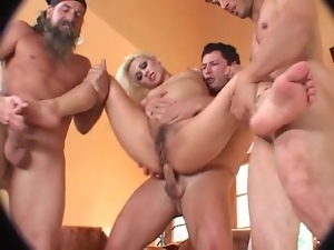 Anal, Asshole, Blondes, Gangbang, Hairy, Slut, Young