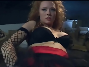 Dped, Garter belts, Gloves, Redheads, Stockings