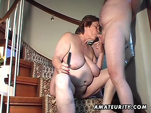 Amateur, Chubby, Cougar, Fucking, Sex toys, Sucking, Wife