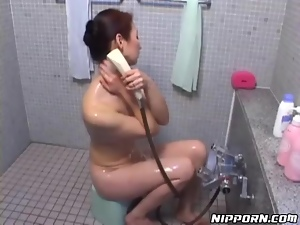 Hairy, Japanese, Sexy, Shower, Wet