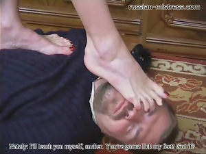 Caught, Femdom, High heels, Mistress, Punish, Trampling