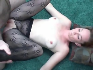 Beautiful, Blowjob, Freckled, Licking, Lingerie, Stockings, Sucking