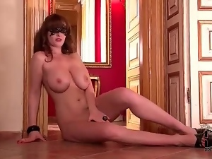 Big tits, Chick, Curvy, Mask, Nude, Solo, Tits