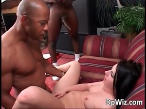 African, Bitch, Black, Dick, Double penetration, Ebony, Hardcore, Interracial, Penetrating, Sandwich, Vixen, White