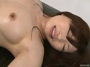 Alluring, Asian, Fingering, Horny, Japanese, Oiled, Oriental, Pussy, Shaved, Teens