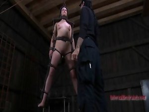 Bdsm, Bondage, Cage, Fetish, Hardcore, Juicy, Lady, Slave, Young