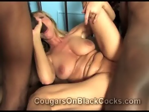 Aged, Bitch, Black, Blondes, Blowjob, Dick, Ebony, Fucking, Grinding, Interracial, Mature, Nympho, Reality, Threesome, Tits