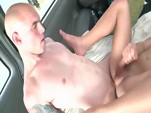 Ass, Blowjob, Bus, Butt, Dick, Fucking, Gay, Sucking