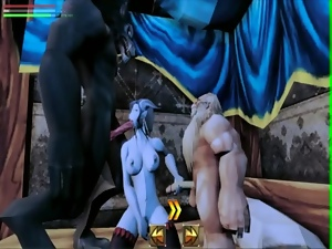 3d, Animation, Blowjob, Deepthroat, Doggystyle, Double penetration, Futanari, Gangbang, Sucking
