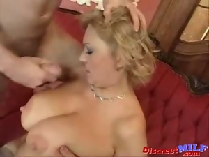 Blondes, Boobs, Cleaner, Cum, European, Hairy, High heels, Housewife, Jerking, Milf, Mom, Tits