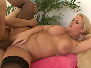 Big tits, Blondes, Blowjob, Mature