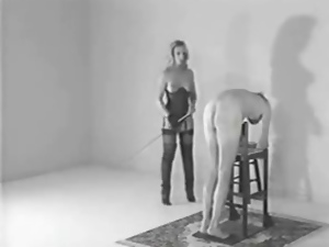 Bdsm, Blondes, Caning, Close up, Stockings, Tits, Vintage
