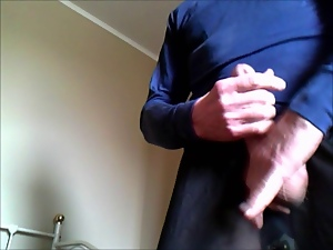 Gay, Masturbating, Satin, Underwear