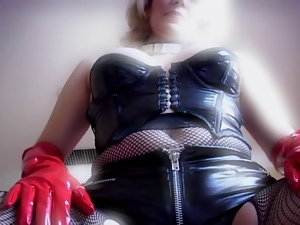Double penetration, Experienced, Latex, Mature, Rubber, Sexy