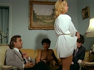 French, Hairy, Stockings, Swingers, Vintage