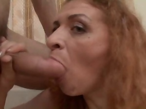 Amateur, Dick, Experienced, Mature, Old, Redheads, Riding, Young