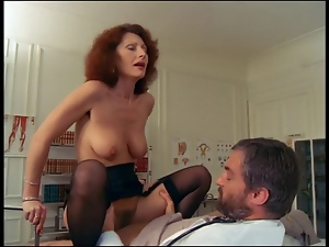 Femdom, French, Hairy, Stockings, Vintage