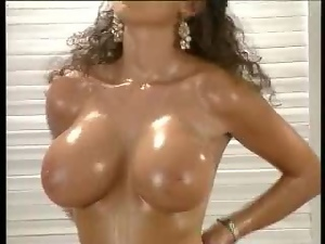 Big tits, Brunettes, Oiled, Old, Pornstars, Softcore, Young