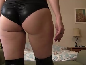 Close up, Jerk off instruction, Lingerie, Milf, Pov, Upskirt