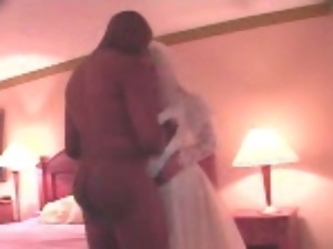 Black, Bride, Cuckold, Interracial, Phone