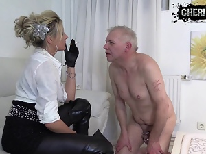 Bdsm, Face, Femdom, German, Leather