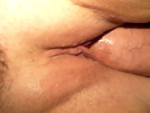 Amateur, Brunettes, Close up, Dick, Mature, Obese, Plumper, Pussy, Wet, Wife