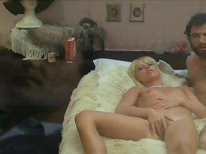 Blondes, French, Gloves, Hairy, Sex toys, Strapon, Vintage