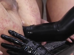 Anal fisting, Bisexual, Femdom, Huge, Strapon