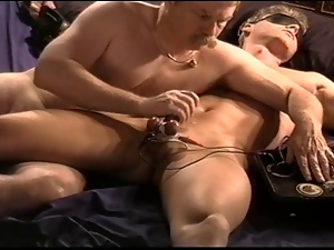 18 year old, Bdsm, Cbt, Cum, Electrified, Gay, Young